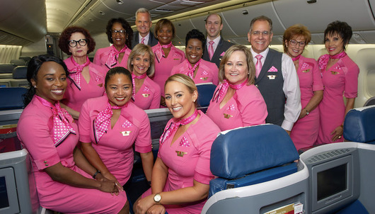 JOIN DELTA'S EMPLOYEE SURVIVORS ON OUR ANNUAL BREAST CANCER ONE SURVIVOR FLIGHT