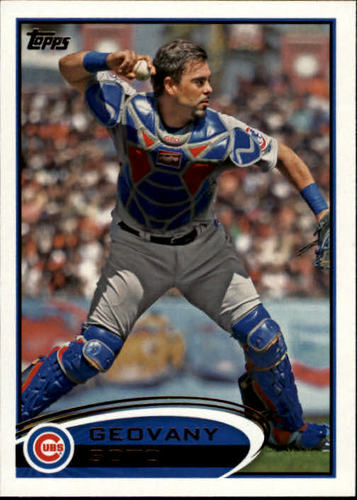 Photo of 2012 Topps #56 Geovany Soto