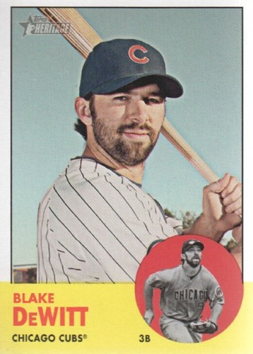 Photo of 2012 Topps Heritage #384 Blake DeWitt