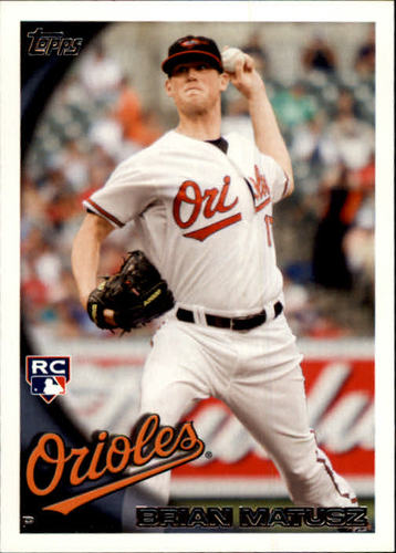 Photo of 2010 Topps Update #US185A Brian Matusz RC