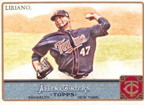 Photo of 2011 Topps Allen and Ginter #48 Francisco Liriano