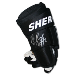 Ray Bourque Autographed Sher-Wood Hockey Glove