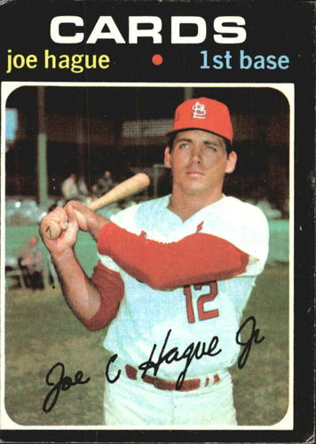 Photo of 1971 Topps #96 Joe Hague