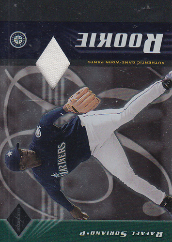 Photo of 2001 Leaf Limited #356 Raf Soriano Pants/650 RC