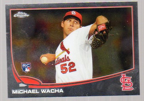 Photo of 2013 Topps Chrome #119 Michael Wacha RC