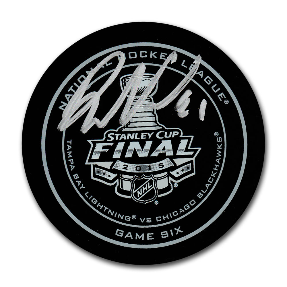Phil Kessel Autographed 2015 Stanley Cup Final Official Game Six Puck
