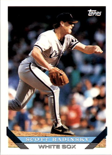 Photo of 1993 Topps #550 Scott Radinsky