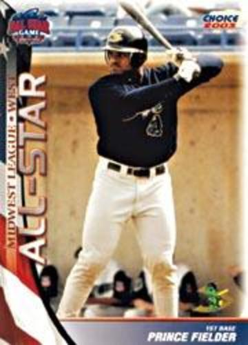 Photo of 2003 Midwest League All-Star Choice #35 Prince Fielder