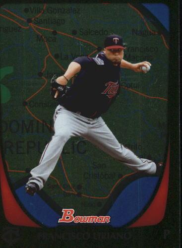 Photo of 2011 Bowman International #73 Francisco Liriano -- Astros post-season