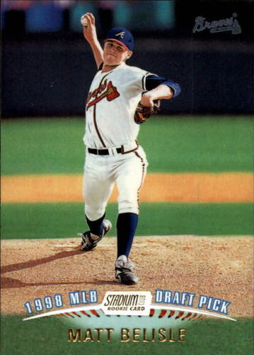 Photo of 1999 Stadium Club #339 Matt Belisle Rookie Card -- Twins post-season