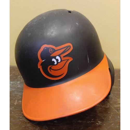 Photo of Mark Trumbo - Batting Helmet: Team-Issued