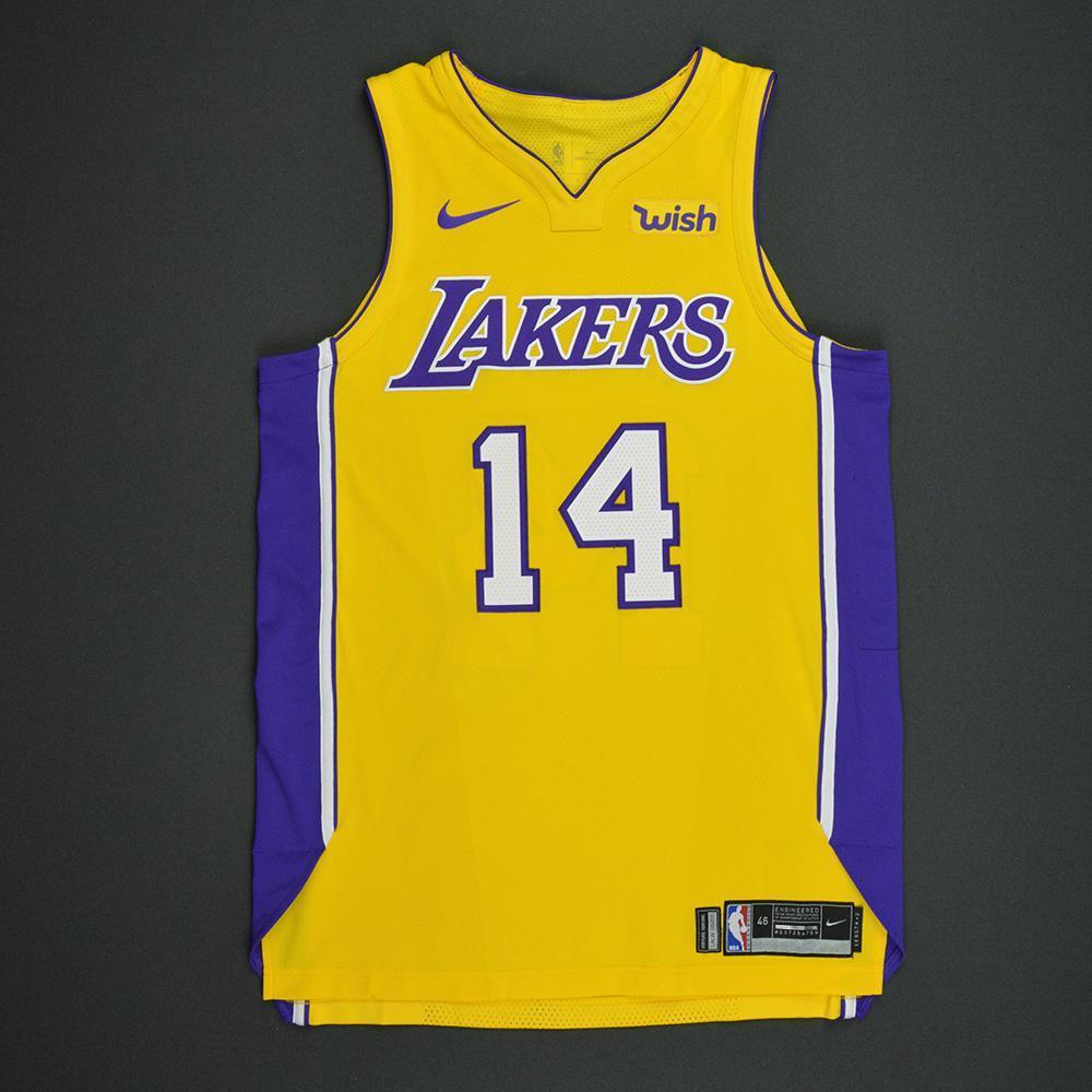 Brandon Ingram - Los Angeles Lakers - Kia NBA Tip-Off 2017 - Game-Worn Jersey - Worn in 3 Games