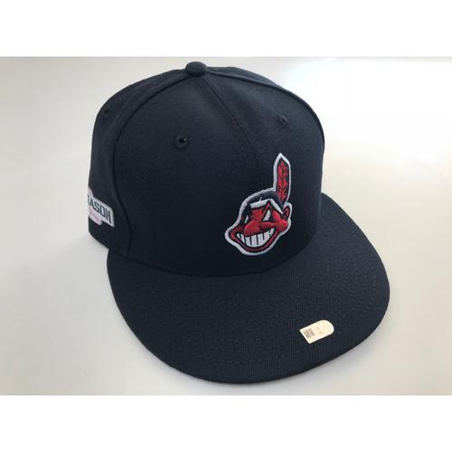 Jose Ramirez 2016 Postseason Cap (Size 7 ¼)