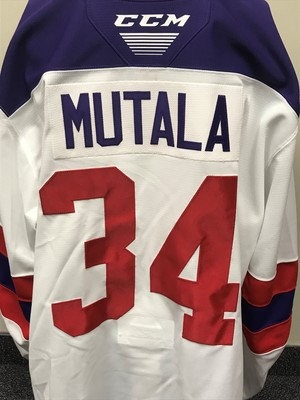 Sasha Mutala 2019 Sherwin-Williams CHL/NHL Top Prospects Game Issued Jersey