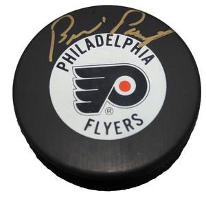 Bernie Parent Autographed Philadelphia Flyers Puck
