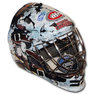 Carey Price Autographed Montreal Canadiens Replica Goalie Mask