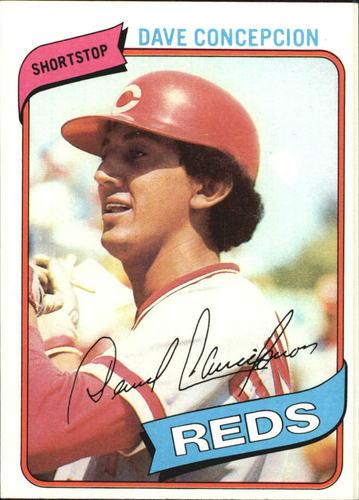 Photo of 1980 Topps #220 Dave Concepcion