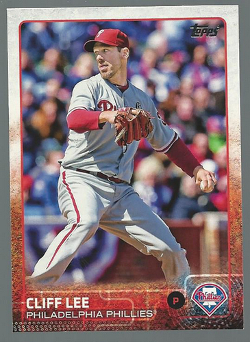 Photo of 2015 Topps #212 Cliff Lee