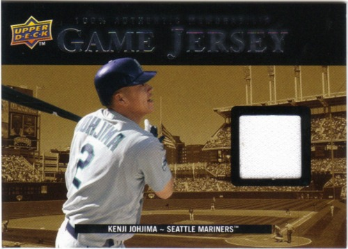 Photo of 2008 Upper Deck UD Game Materials 1999 #KJ Kenji Johjima