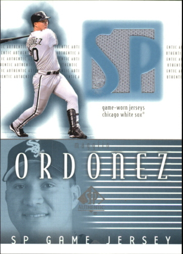 Photo of 2002 SP Authentic Game Jersey #JMO Magglio Ordonez
