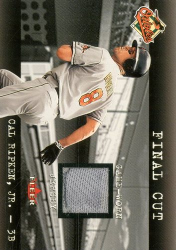 Photo of 2001 Fleer Genuine Final Cut #19 Cal Ripken