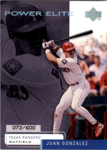 Photo of 1999 Upper Deck Challengers for 70 Challengers Edition #9 Juan Gonzalez