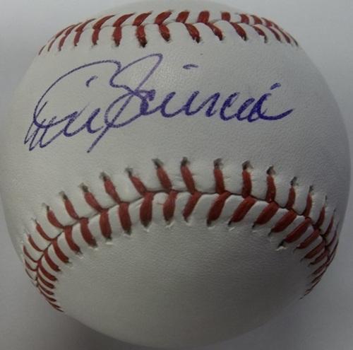 Photo of Mike Scioscia Autographed Baseball