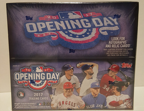Photo of 2017 Topps Opening Day Baseball