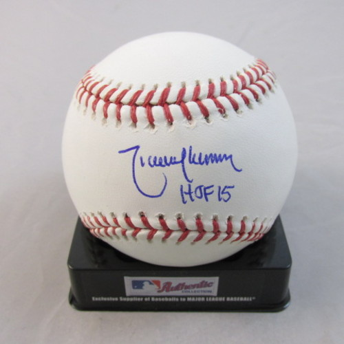 "Photo of Randy Johnson Autographed ""HOF 2015"" Baseball"