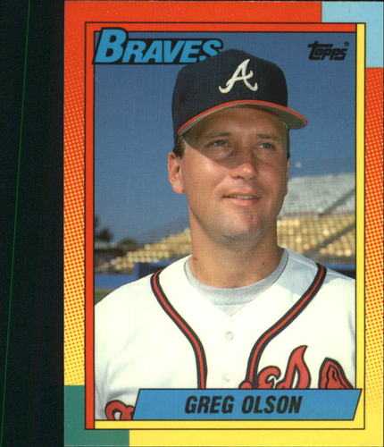 Photo of 1990 Topps Traded Tiffany #84T Greg Olson (C)