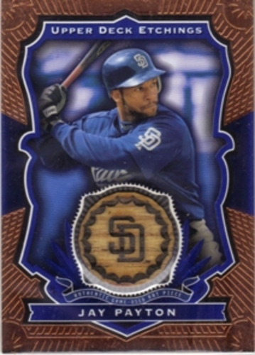 Photo of 2004 Upper Deck Etchings Game Bat Blue #JP Jay Payton