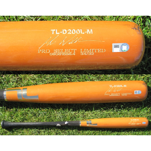 San Francisco Giants - Team Issued Broken Bat - Spring Training - Mac Williamson