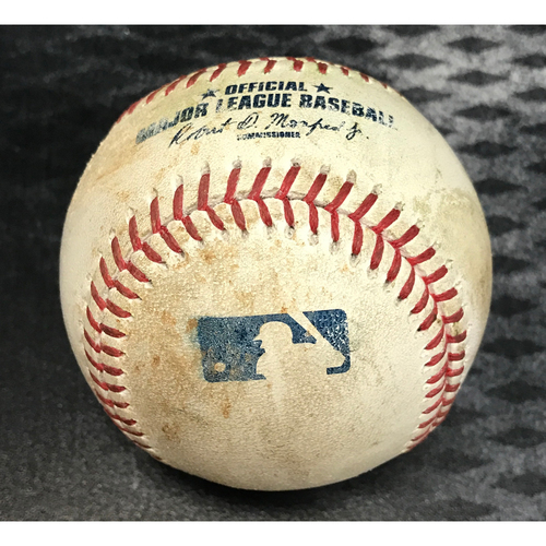 Photo of Game-Used Baseball - Gregor Blanco Double & Nick Ahmed 2RBI Single vs. Jose Quintana
