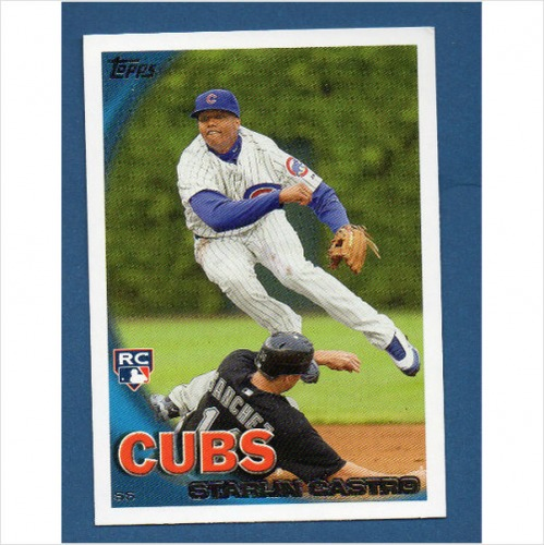 Photo of 2010 Topps Update #US85A Starlin Castro Rookie Card -- Yankees post-season