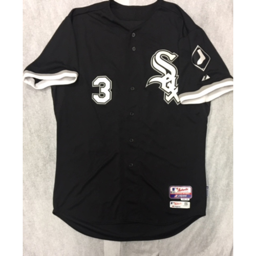 Photo of Harold Baines 2015 Team-Issued Black Alternate Jersey - Size 50