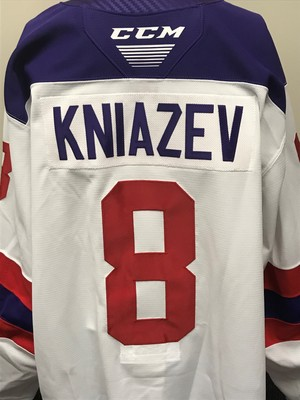 Artemi Kniazev 2019 Sherwin-Williams CHL/NHL Top Prospects Game Issued Jersey