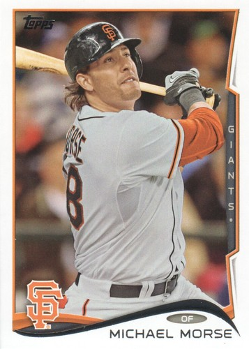 Photo of 2014 Topps #569 Michael Morse