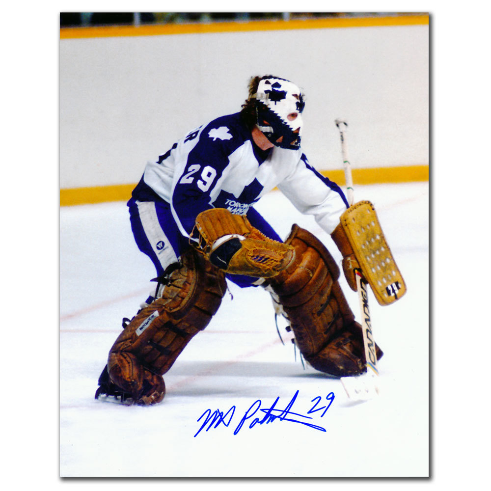 Mike Palmateer Toronto Maple Leafs Autographed 8x10
