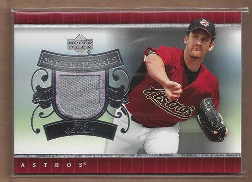 Photo of 2007 Upper Deck UD Game Materials #RO Roy Oswalt Jersey