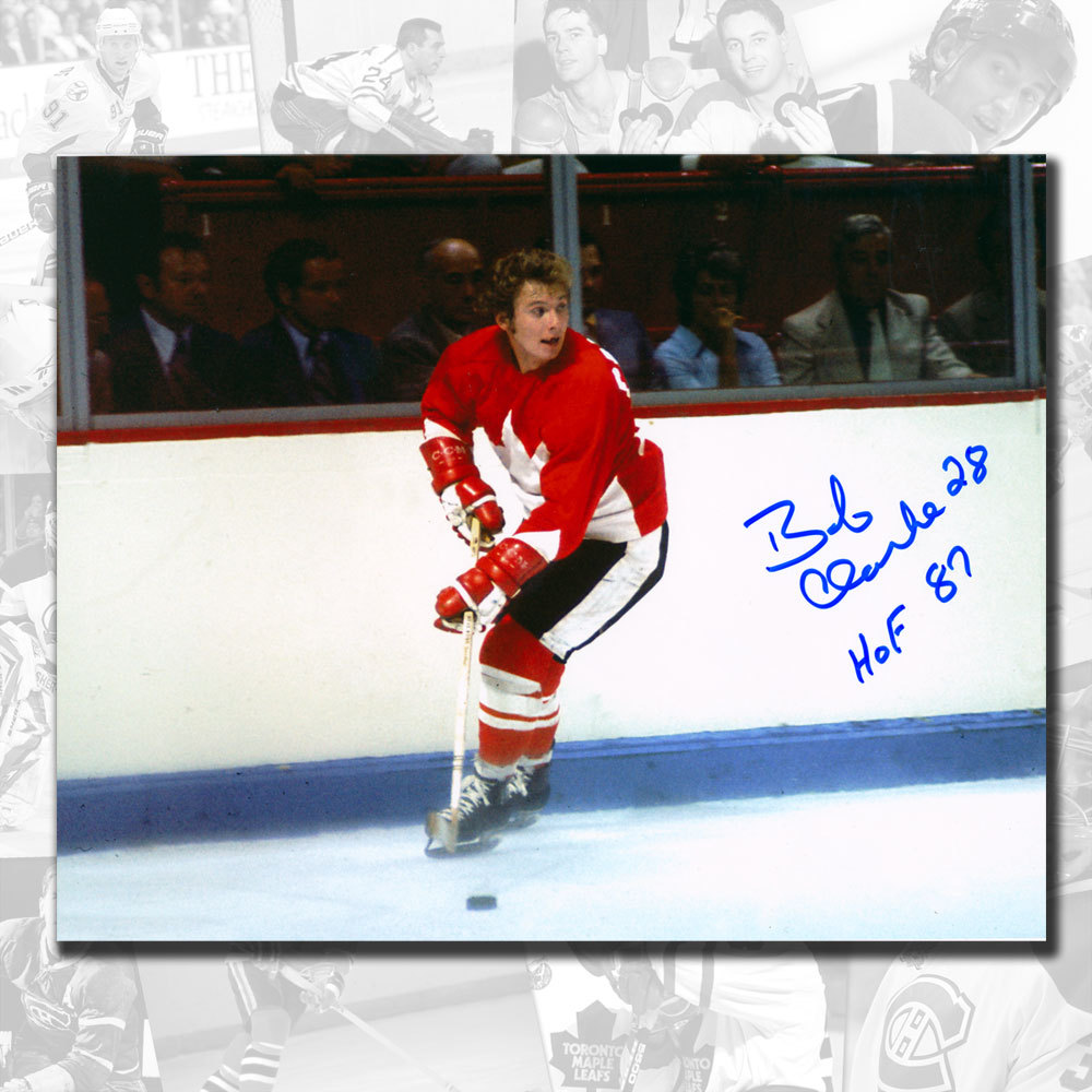 Bobby Clarke Team Canada 1972 Summit Series HOF Autographed 8x10