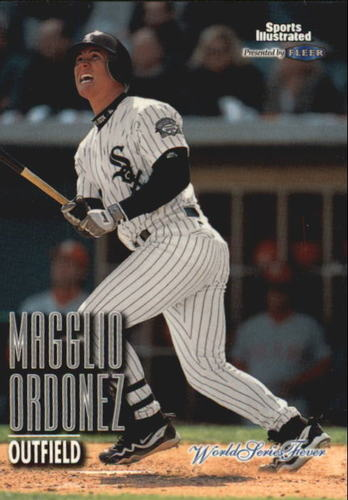 Photo of 1998 Sports Illustrated World Series Fever #131 Magglio Ordonez RC