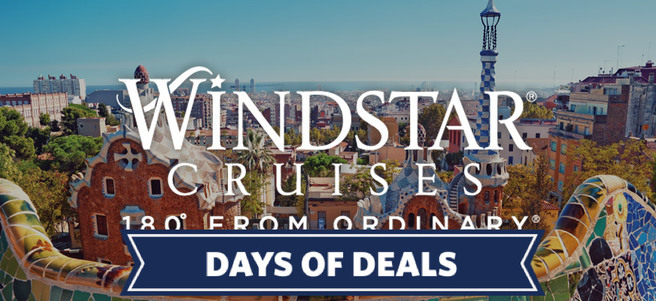 WINDSTAR 7-DAY CHARMS OF THE FRENCH & SPANISH RIVIERIAS CRUISE - PACKAGE 1 of 2