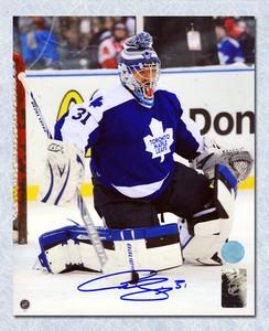 Curtis Joseph Toronto Maple Leafs Autographed Winter Classic Alumni 8x10 Photo