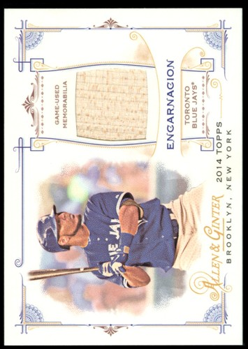 Photo of 2014 Topps Allen and Ginter Relics #FRBEE Edwin Encarnacion B