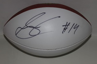 NFL - STEELERS SAMMIE COATES SIGNED PANEL BALL