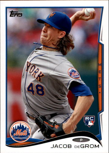 Photo of 2014 Topps Update #US50A Jacob deGrom RC