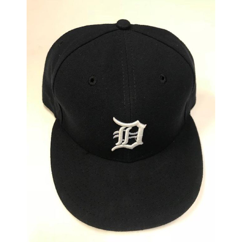 Team-Issued Justin Verlander Home Cap