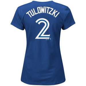 Women's Troy Tulowitzki Player T-Shirt by Majestic