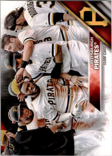 Photo of 2016 Topps #65 Pittsburgh Pirates