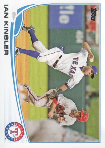 Photo of 2013 Topps #440 Ian Kinsler
